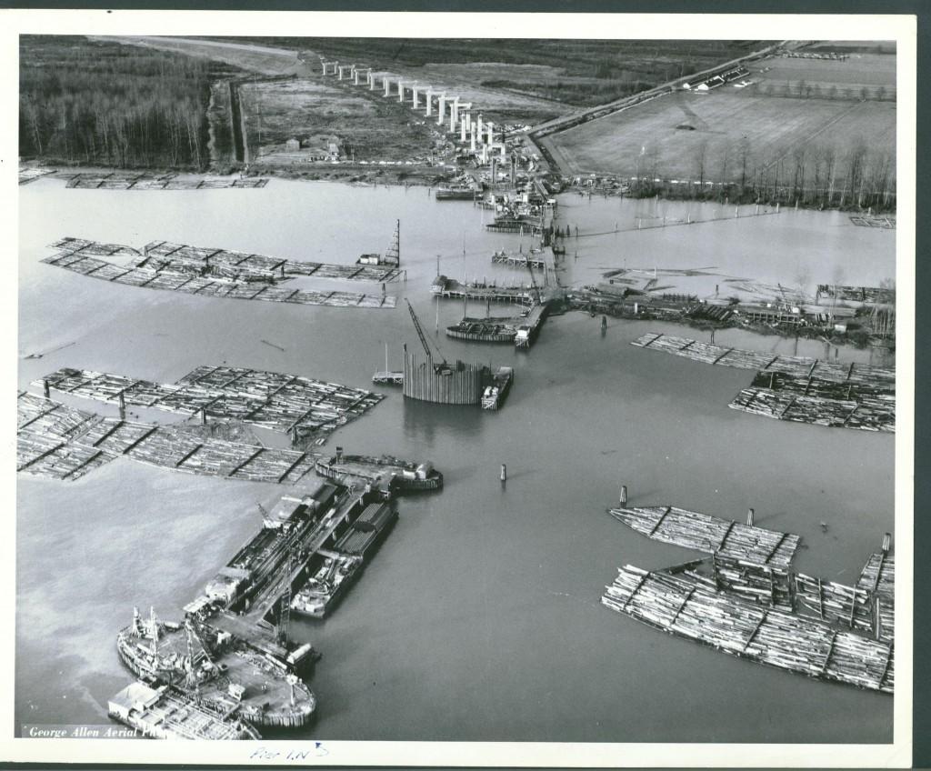 Construction of the Port Mann Bridge