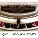 Ball bank indicator Cornell