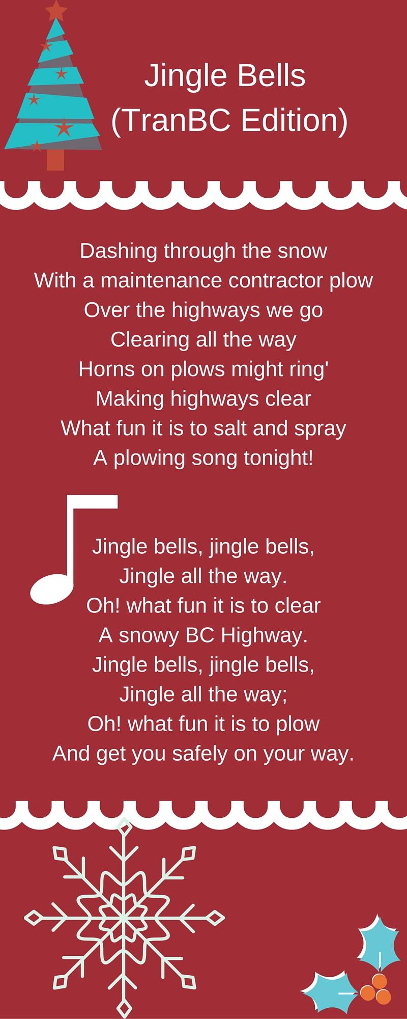 Jingle Bells Christmas Highway Maintenance