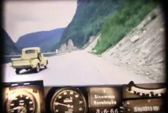 Three Valley Gap with Truck