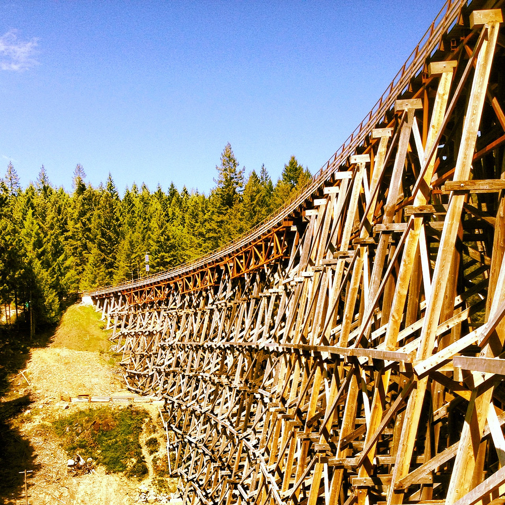 Kinsol Trestle in Cowichan on Vancouver Island