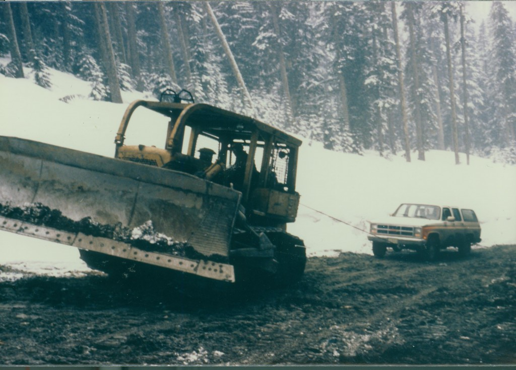 1986Coquihalla Construction