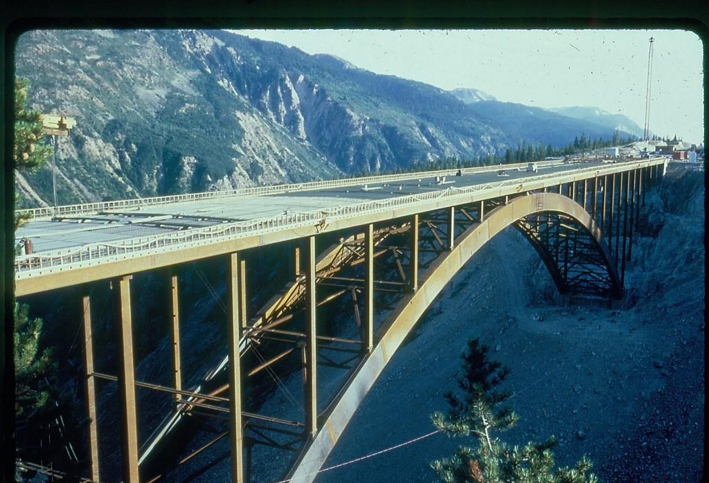 Construction of Dry Gulch Bridge