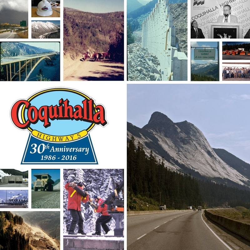 30th Anniversary Coquihalla Construction-1