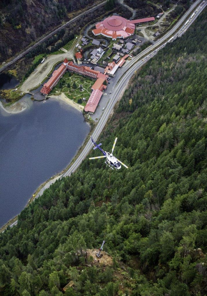 3 Valley Gap Wyssen Tower Installation