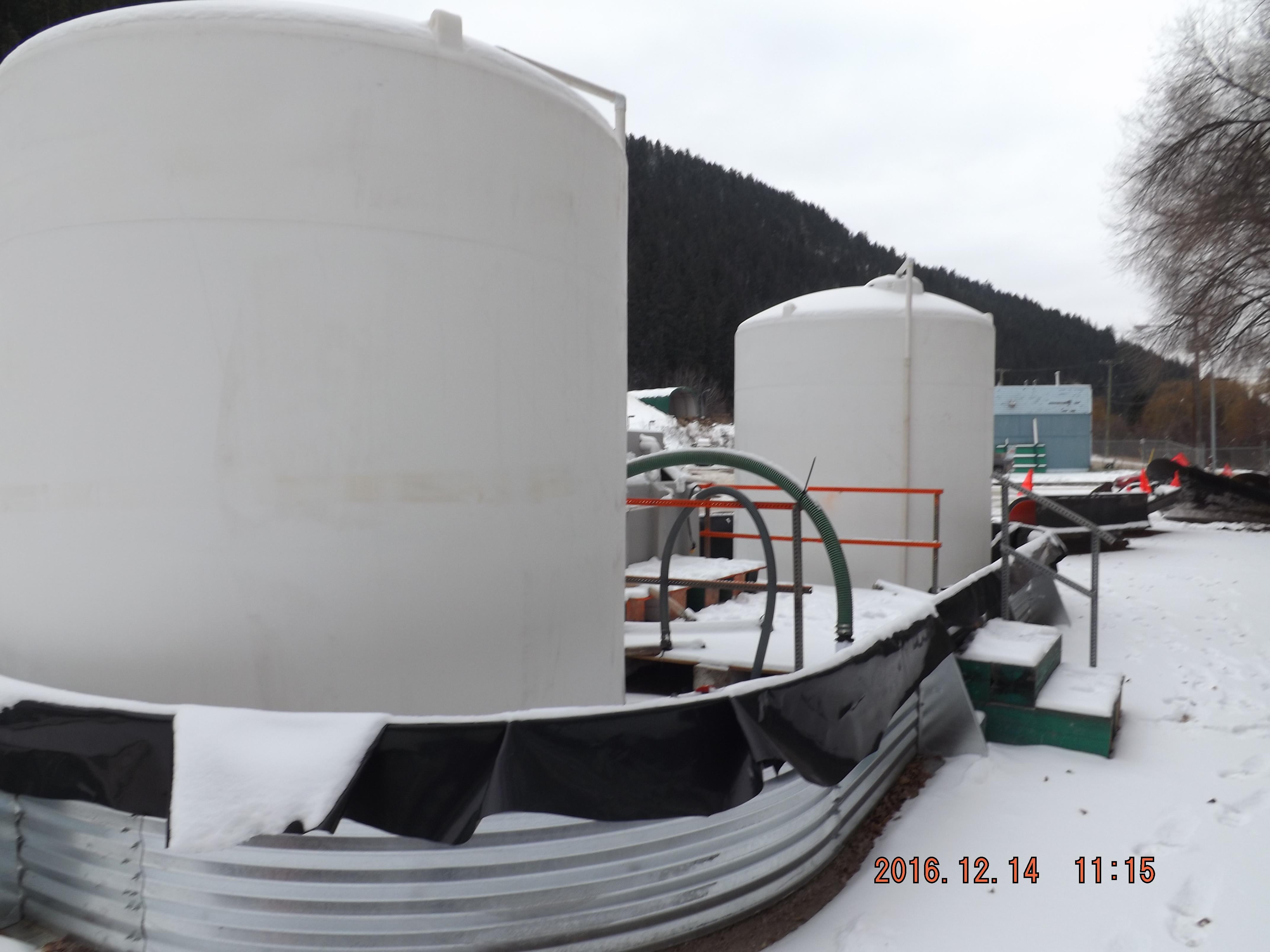 Brine making facility