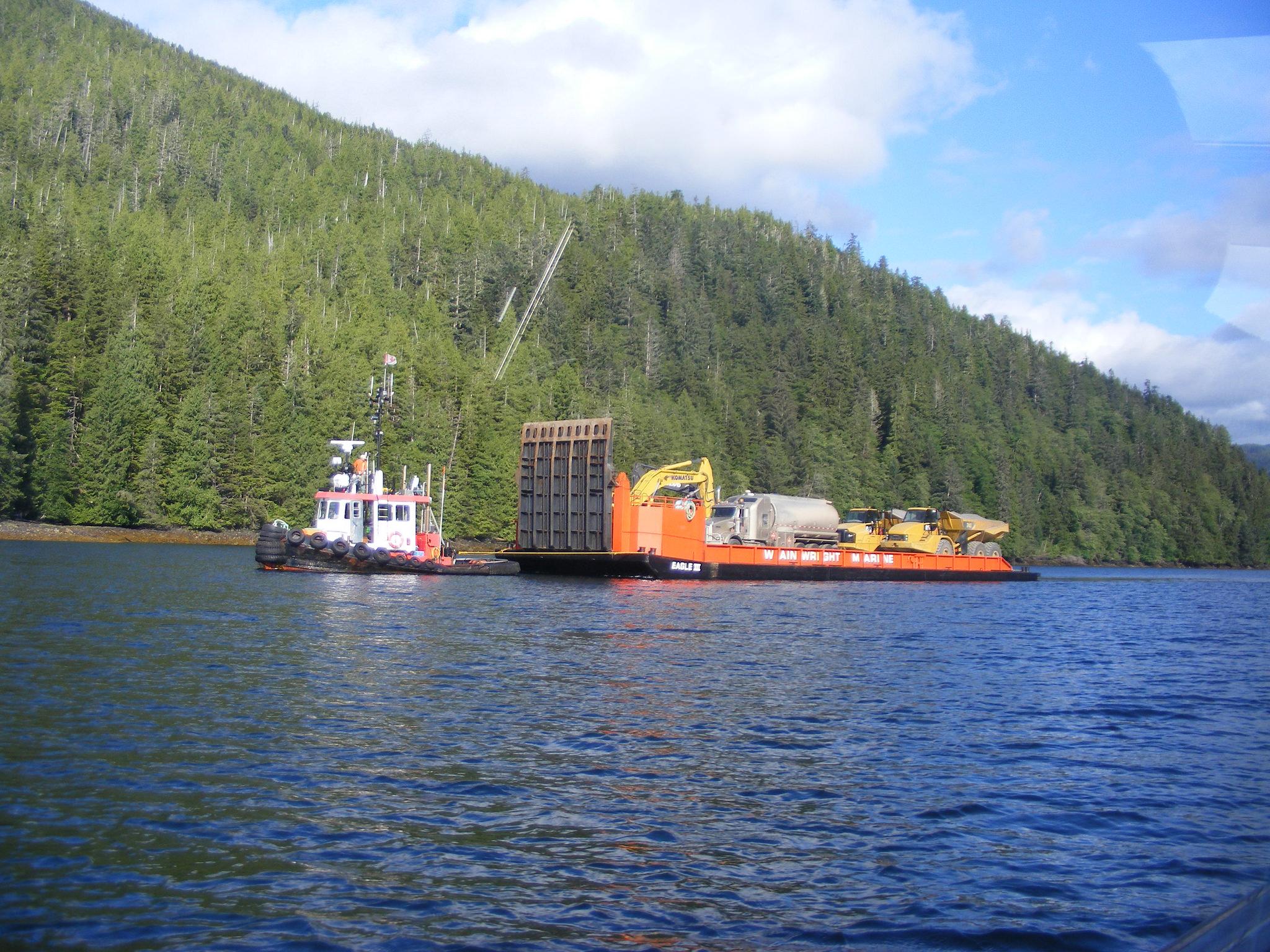 Barging in Equip