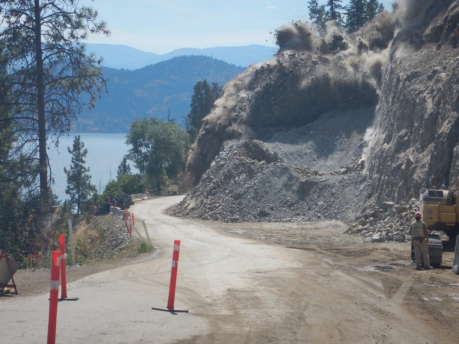A Westside Road Story – Breathtaking Route Being Improved