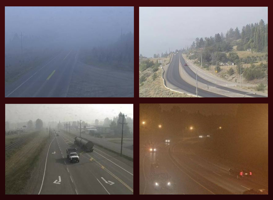 bc wildfire, highways, blog, road safety