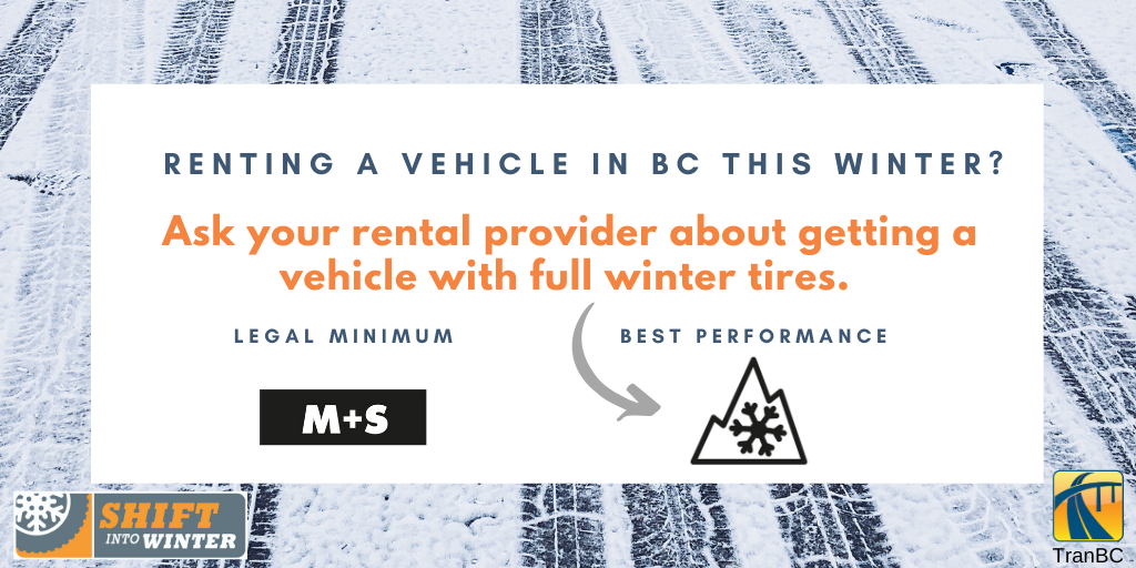 Renting a Vehicle in BC This Winter