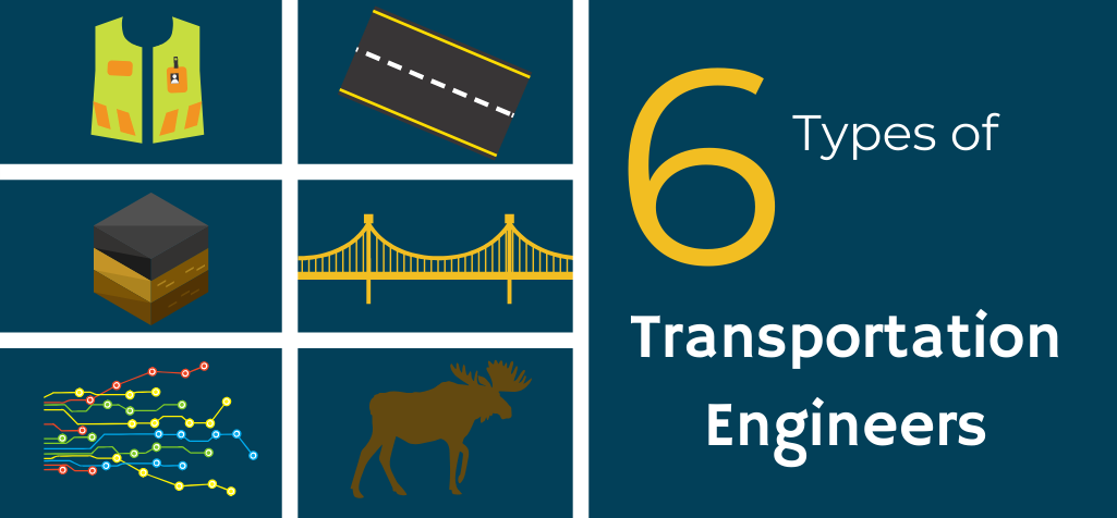 Types of Transportation Engineers