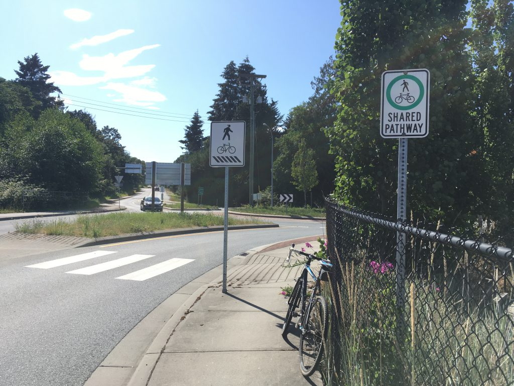 Shared Pathway Sign