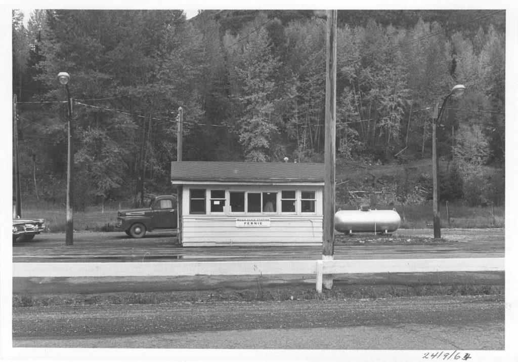 Fernie Weigh Scale, circa 1964
