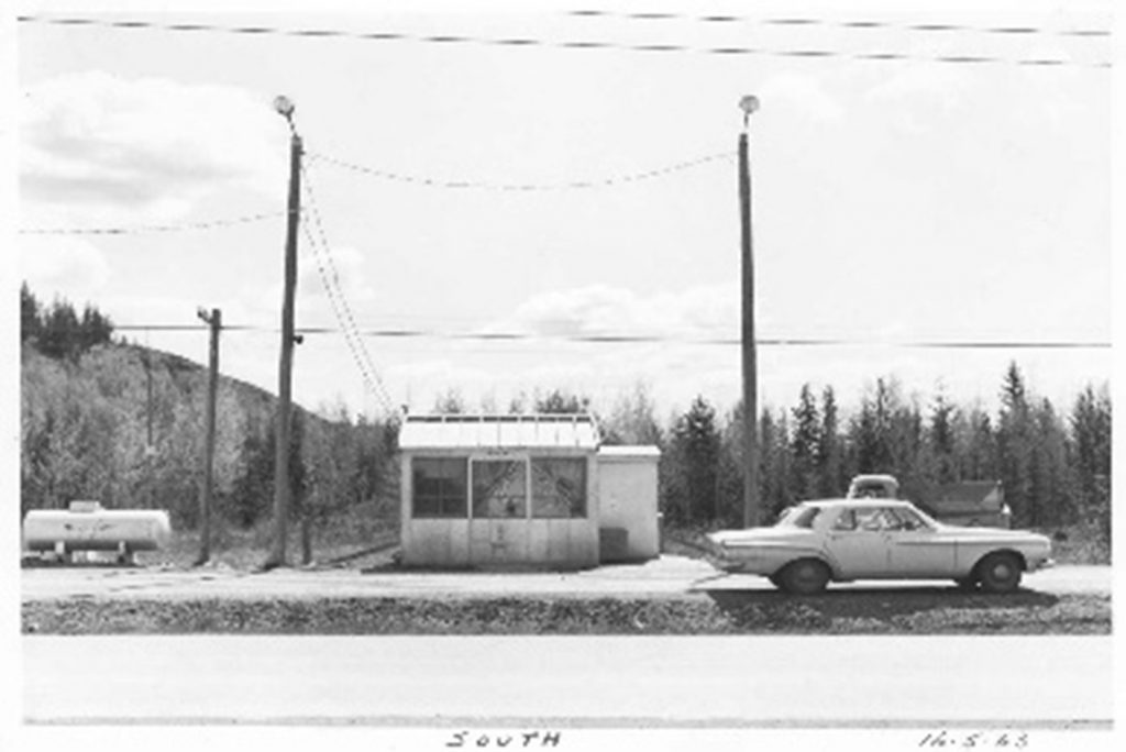 Quesnel Weigh Scale Station as it was in 1965