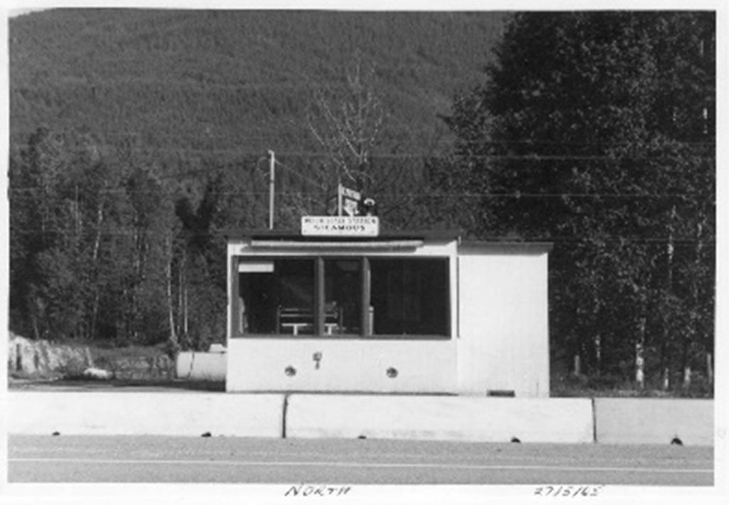 Sicamous Weigh Scale Station