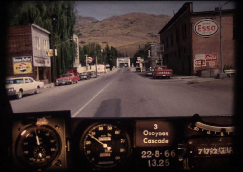 Driving through downtown Grand Forks, circa 1966