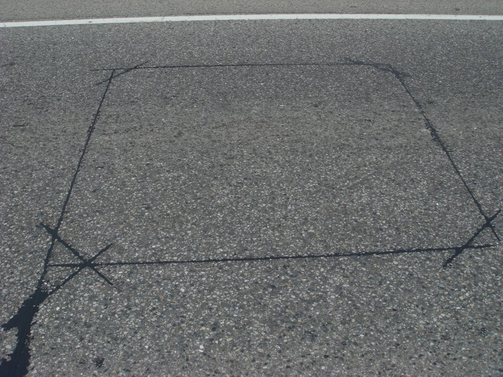Inductive loops embedded in the road register vehicle information as data